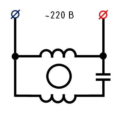 Схема обмоток двигателя напольного вентилятора5