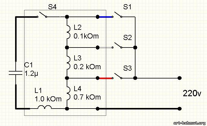 Схема вентилятора напольного
